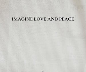 peace, words, and love image