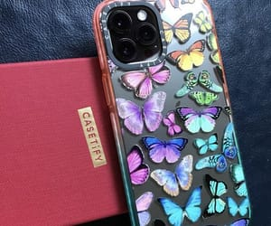butterflies, butterfly, and cases image
