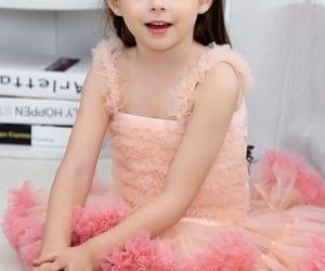 girl dress, brithday party dress, and tutu dress image