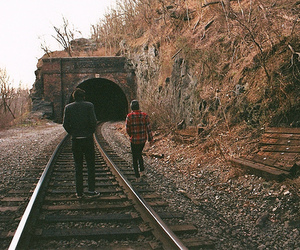 boy, train, and indie image