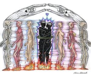 art, dimension, and spiritual image