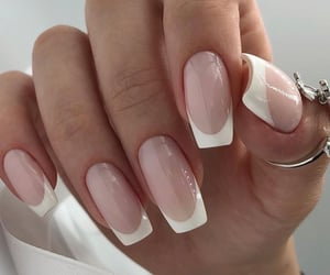 nail art, nails, and french manicure image