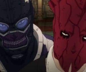 anime, shin, and mask image