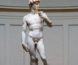david, florence, and michelangelo image