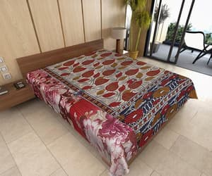 etsy, quilted blanket, and wholesale kantha image