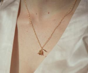 accessories, accessory, and gold necklace image