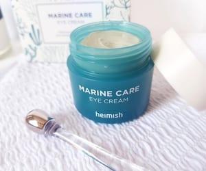 skin care, eye cream, and heimish image