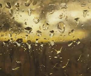 art and raindrops image