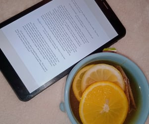 book, reading, and teatime image