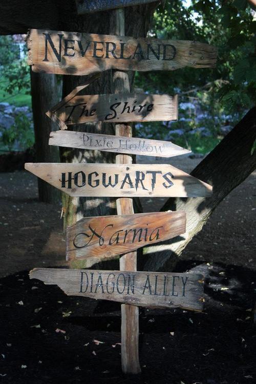 alice in wonderland, harry potter, and hogwarts image