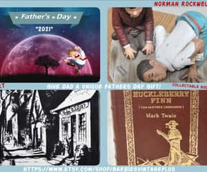 art, Norman Rockwell, and gifts for dad image