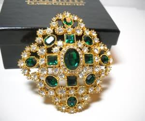 etsy, clear rhinestones, and diamond shape image