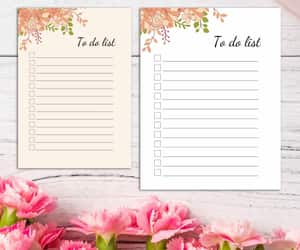 to do list, daily planner, and printable planner image