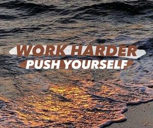 beach, work harder, and motivation image