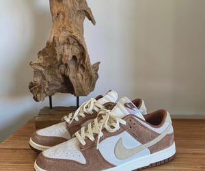 brown, fashion, and sneakers image