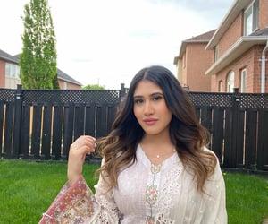 brunette, classy, and pakistani image