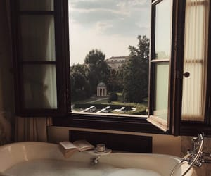 aesthetic, bathtub, and bubble bath image