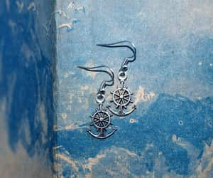 earrings, sea, and nautical jewelry image