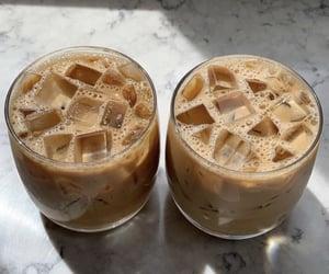 iced latte and fresh taste image