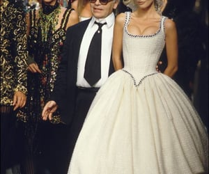 90s, fashion, and Claudia Schiffer image