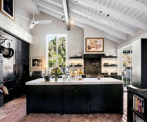 apartment, beams, and black image