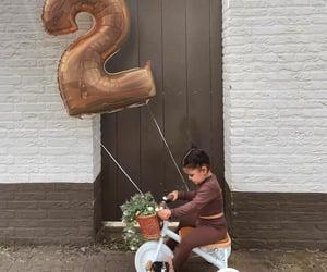 beautiful, bicycle, and birthday image