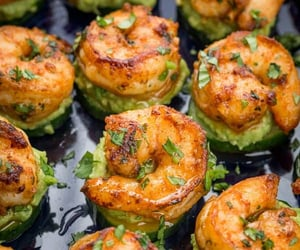 recipes, seafood, and foodporn image