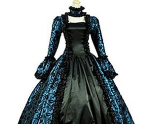 steampunk dress, victorian ball gown, and gothic victorian dress image