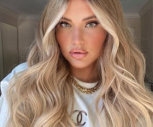aesthetic, blond, and blond hair image