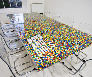 lego, table, and furniture image