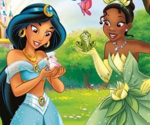 aladdin, disney princess, and princess tiana image