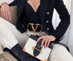 fashion, look, and Prada image