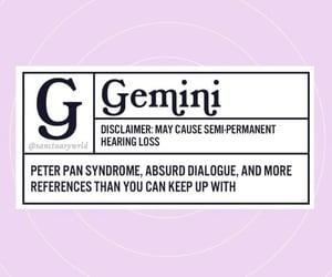 astrology, gemini, and horoscope image