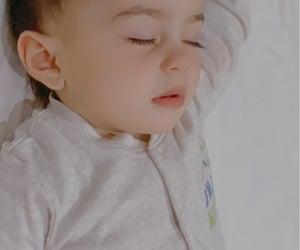 baby boy, cute baby, and sleeping image