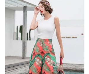 aesthetic, fashionable, and flare pants image