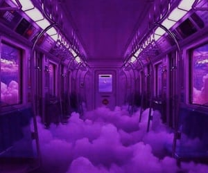 clouds, purple, and aesthetic image