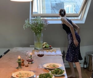 dinner, apartment, and house image