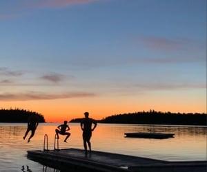 beach, free, and lake image