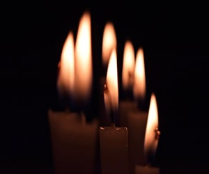 candles, flames, and lights image
