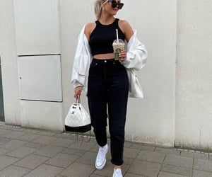blogger, chanel, and converse image