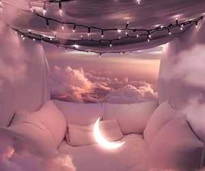 aesthetic, beautiful, and moon image