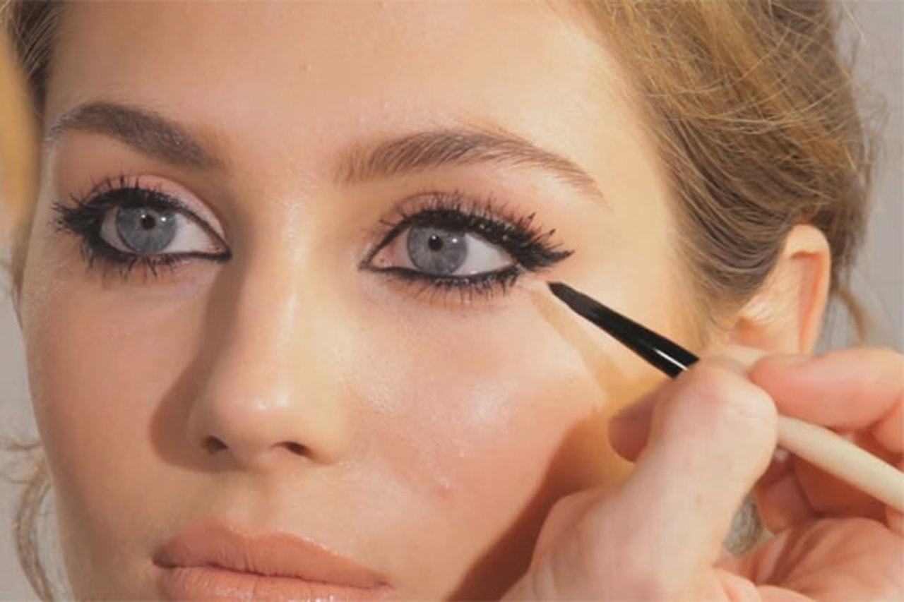 article, eyeliner, and makeup image