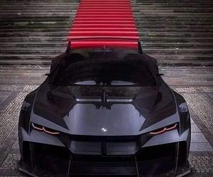 black, bmw, and luxury image