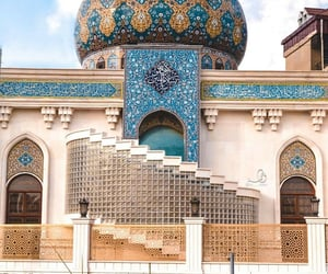 architecture, iraq, and mosque image