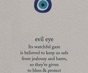 aesthetic, evil eye, and healing image