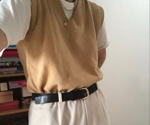 academia, beige, and clothes image
