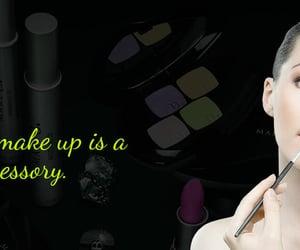 eyelash, lashes, and makeup image
