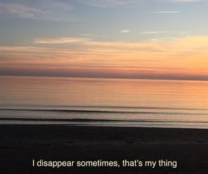 alone, disappear, and lonely image