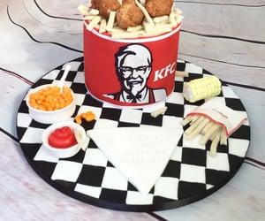 beans, KFC, and birthday image