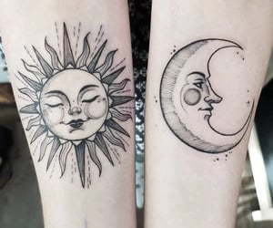 art, inked, and best friend image